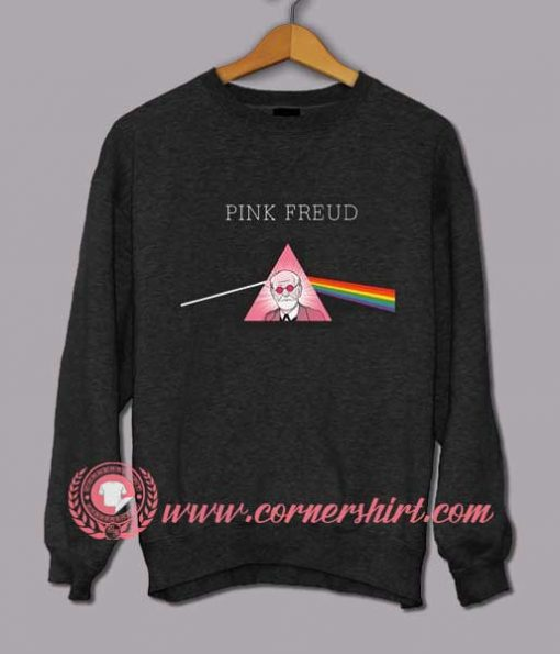 Pink Freud Custom Design Sweat shirts