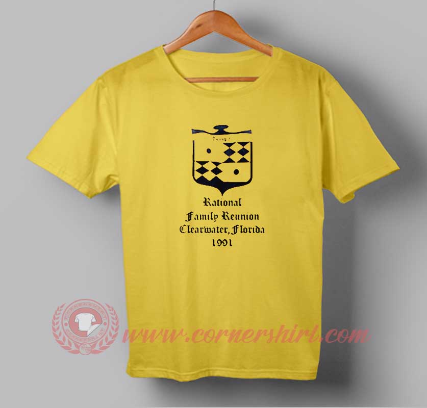 Rational family reunion clearwater logo custom design t for Custom t shirts for family reunion