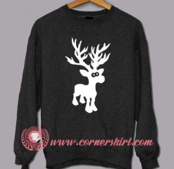Santa Deer Custom Design Sweat shirts