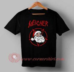 Sleicher Santa Clause Custom Design T shirts