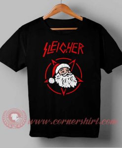 Sleicher Santa Clause Custom Design T shirts