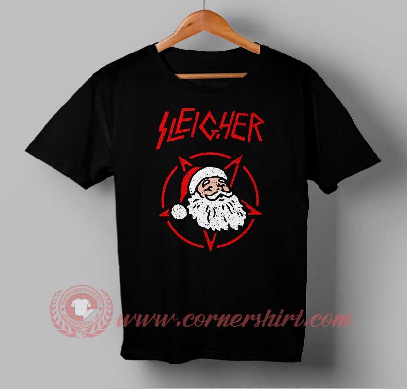 Sleicher santa clause custom design t shirts custom t for Custom t shirts design