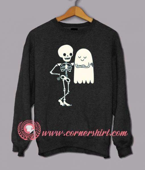 Bones Seduction Halloween Sweatshirt