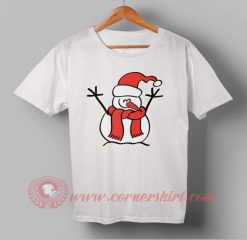 Snow boy Santa Custom Design T shirts