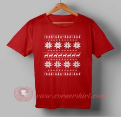 Snow Flake Custom Design T shirts