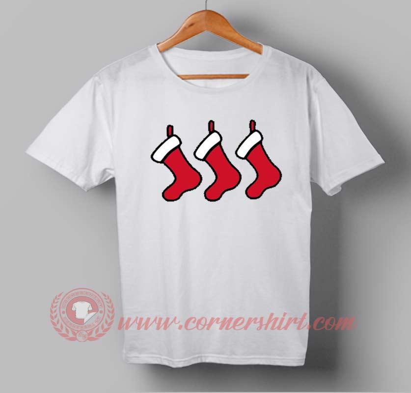 Shock Gift Christmas Custom Design T Shirts Custom T