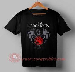 Team Targaryen Custom Design T shirts