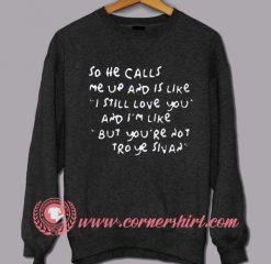 Troye Sivan Quotes Sweatshirt