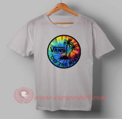 Vans Off The Wall Custom Design T shirts