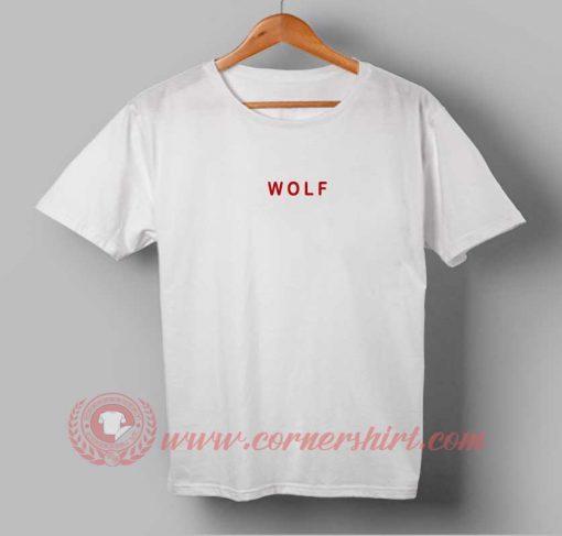 Wolf Custom Design T shirts