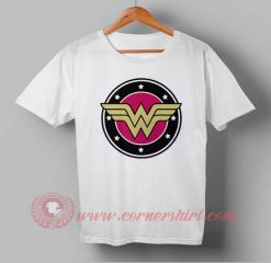 Wonder Woman Logo Custom Design T shirts