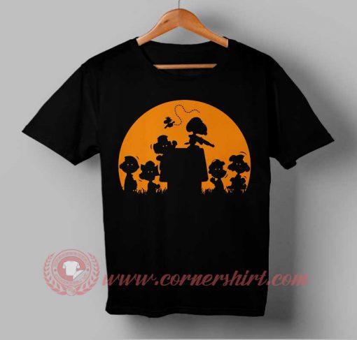Zombie Charlie Brown Halloween T shirt