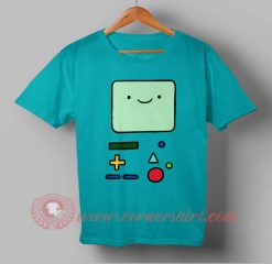 Adventure Time Bmo Custom Design T shirts