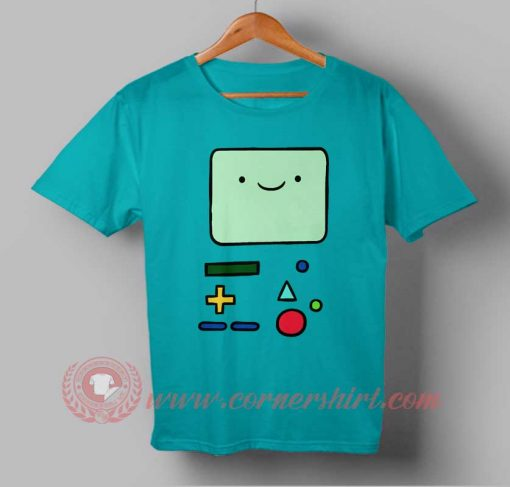 Adventure Time Bmo Custom Design T shirts