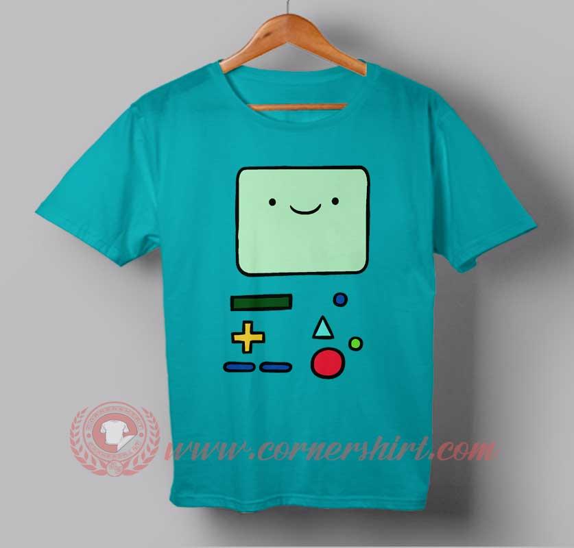 Adventure time bmo custom design t shirts custom design shirt for Custom t shirts design