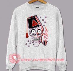 Bones Satanic Halloween Sweatshirt