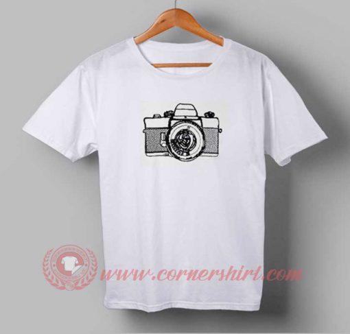 Retro Camera T shirt