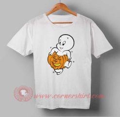Casper Pumpkin Halloween T shirt