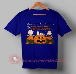 Charlie Brown Halloween T shirt