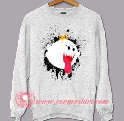 King Of Ghost Halloween Sweatshirt