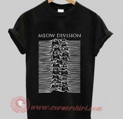 Meow Division Custom Design T shirts