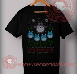 Totoro Flight T shirt Funny Christmas Gifts For Friends