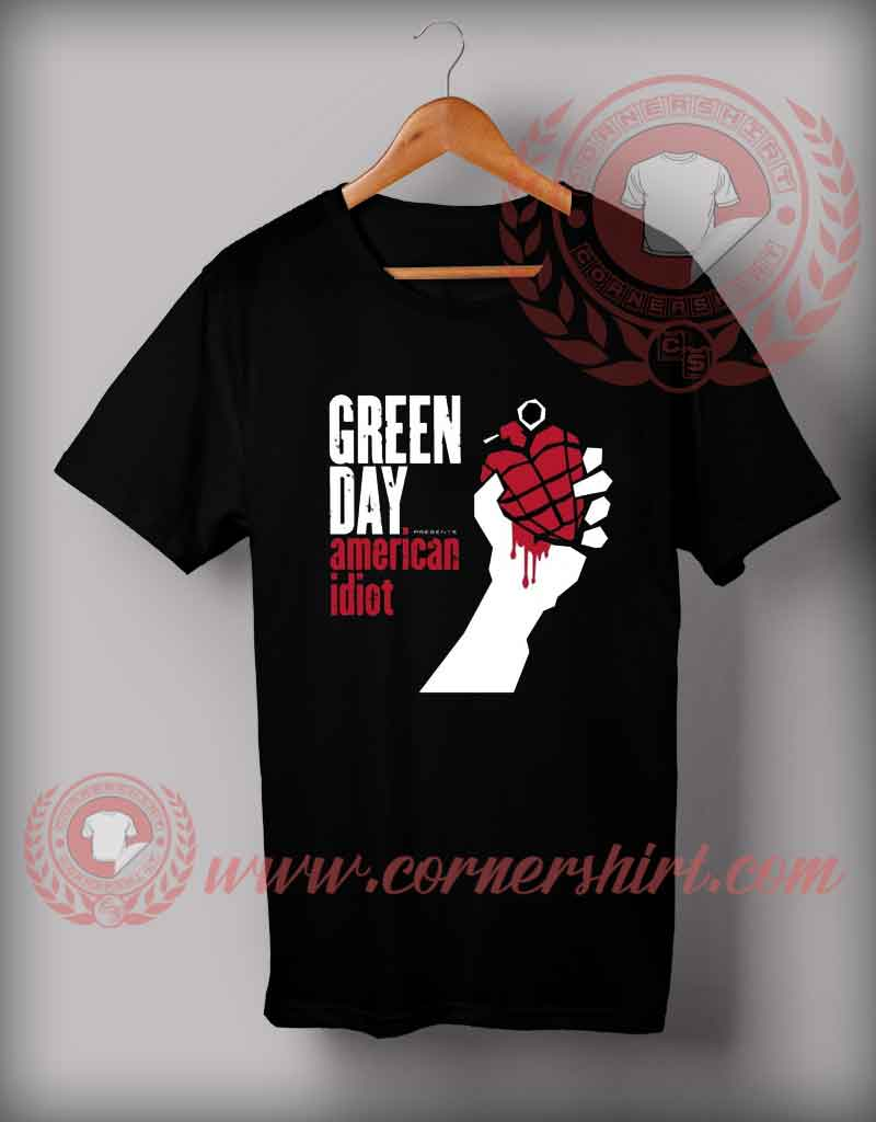 Cheap Custom Made T Shirts American Idiot Custom Design