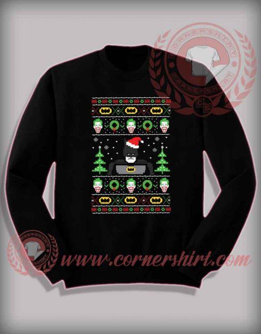 Funny Christmas Gifts For Friends Batman Ugly Sweatshirt