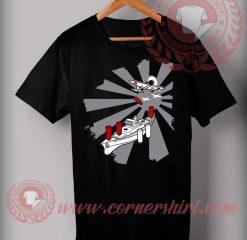 Cheap Custom Made T shirts Battleship