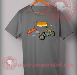 Cheap Custom Made Burger Trail T shirts