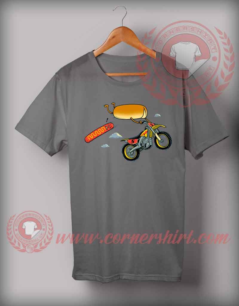 Cheap custom made burger trail t shirts for Design cheap t shirts