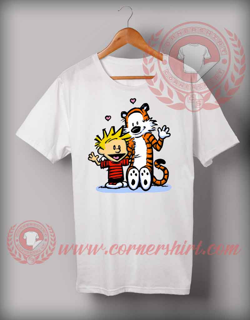 Cheap custom made t shirts calvin and hoobs custom for Design cheap t shirts