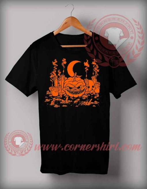 Crescent Pumpkin T shirt