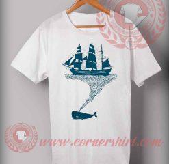Cheap Custom Made T shirts Exhaling Flotsam