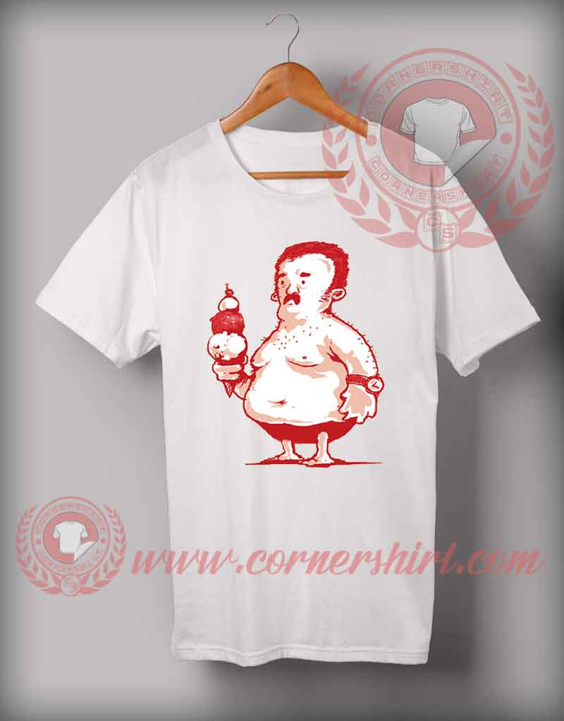 Cheap custom made t shirts fatman holiday custom design for Cheap t shirt design online