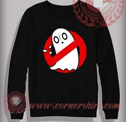 Ghost Blockster Halloween Sweatshirt