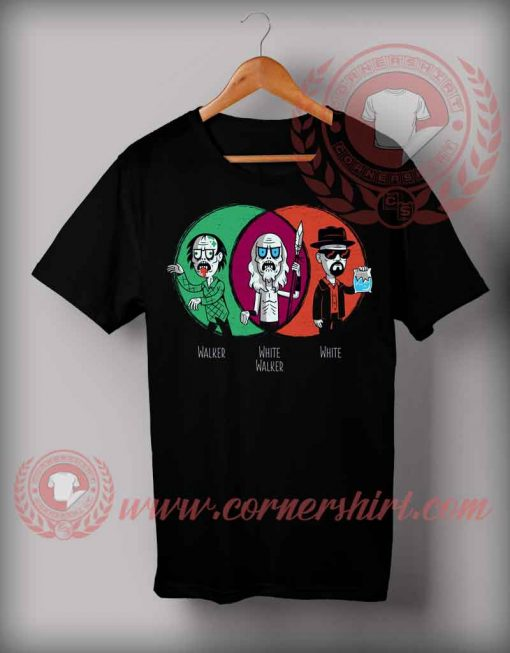 Cheap Custom Made Handsome Zombie Halloween Shirts For Adults