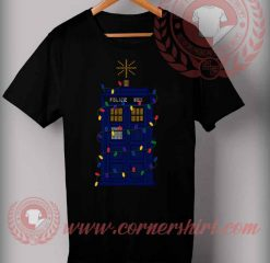 The Tardis Christmas T shirt Funny Christmas Gifts For Friends