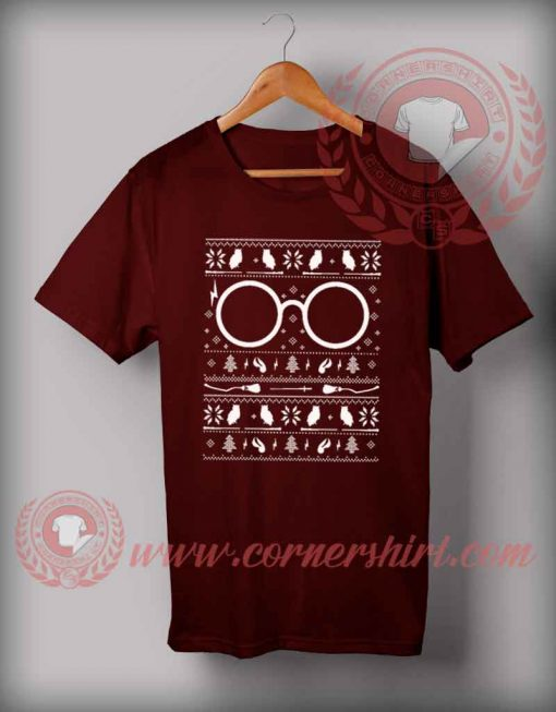 Harry Potter Christmas T shirt Funny Christmas Gifts For Friends