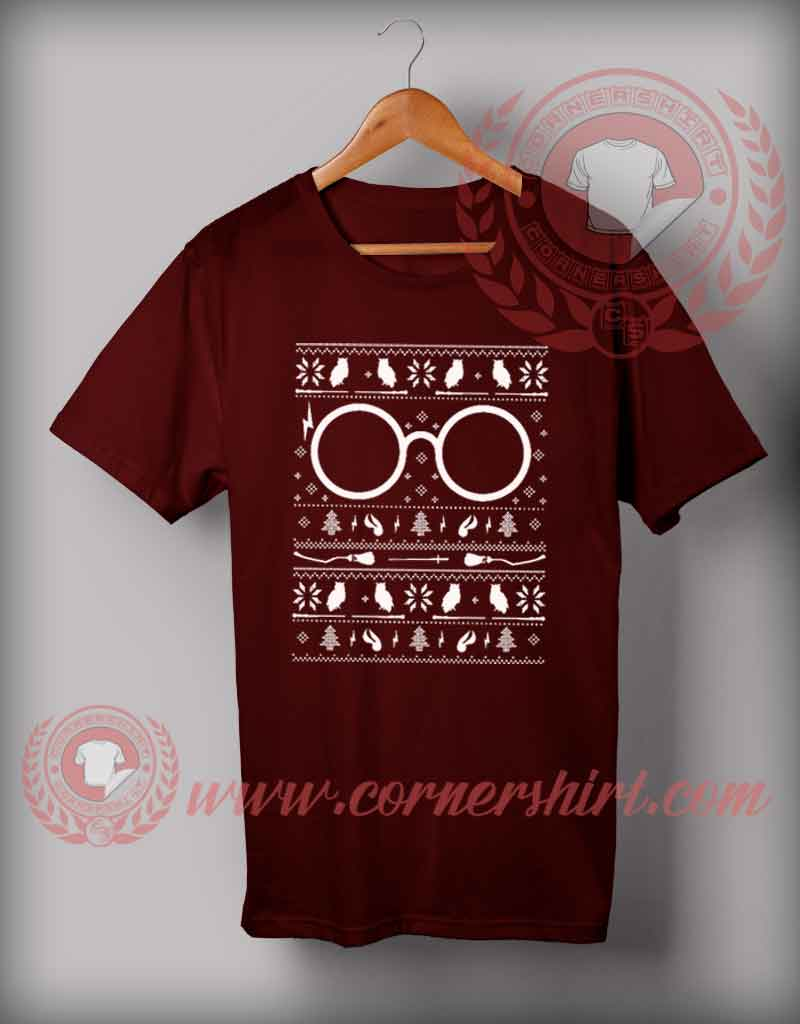 Potter Christmas T shirt Funny Christmas Gifts For Friends
