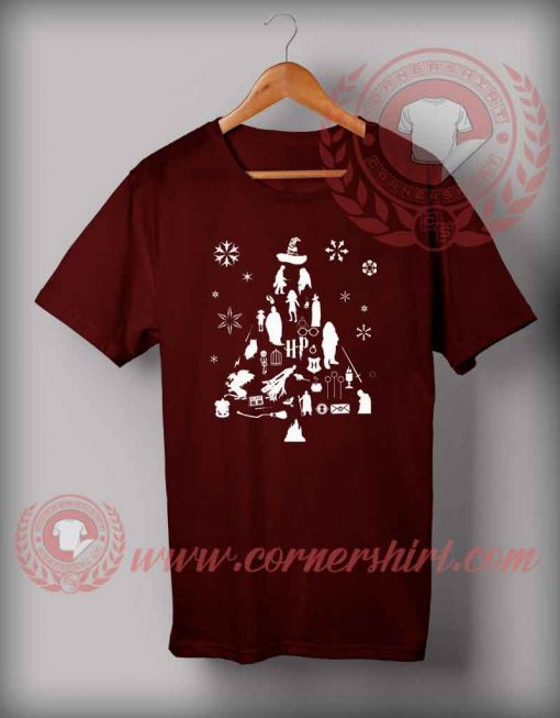 Harry Potter Trees T shirt Funny Christmas Gifts For Friends