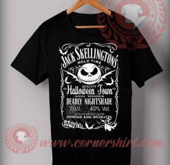 Jack Skelengton Halloween Shirts For Adults