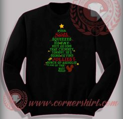 Funny Christmas Gifts For Friends Jolliest Bunch Sweatshirt