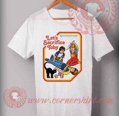 Cheap Custom Let's Sacrifice Toby Halloween Shirts For Adults