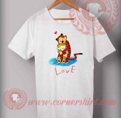 Cheap Custom Made Tshirt Love Calvin And Hobbes