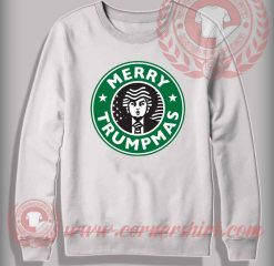 Merry Trumpmas Sweatshirt Funny Christmas Gifts For Friends