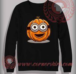 Minion Pumpkin Sweatshirt