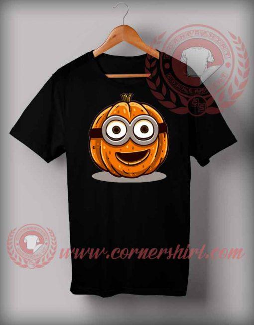 Minion Pumpkin T shirt