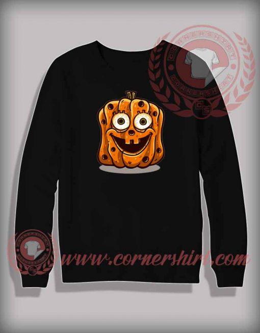 Sponge Bob Pumpkin Sweatshirt