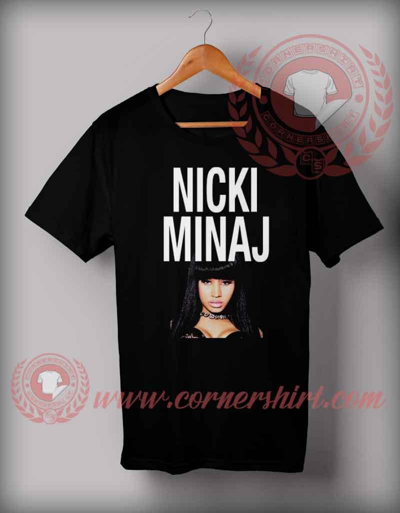 Nicki Minaj T Shirt Custom Design T Shirts On Sale By